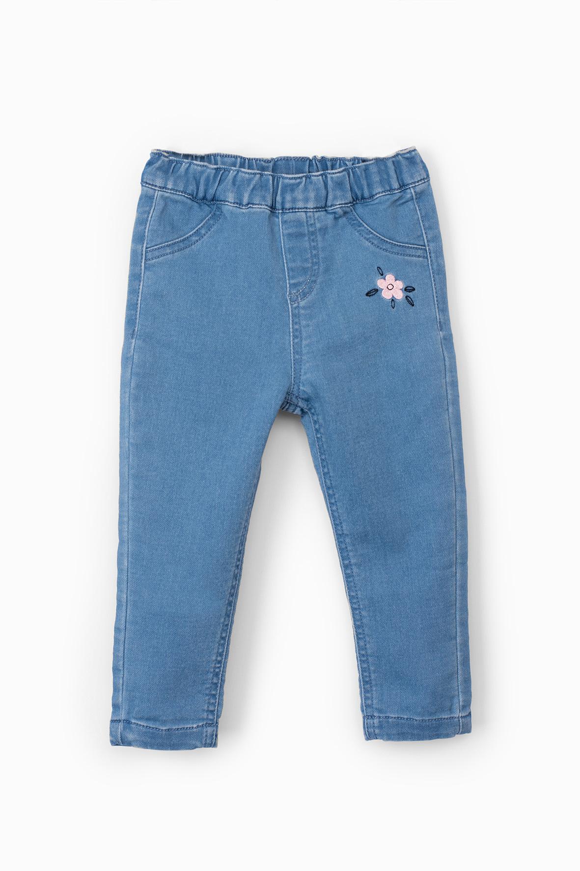 Jegginsy -spodnie dla dziewczynki 6L4001