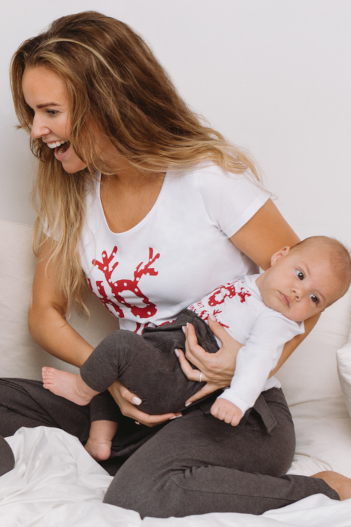 T-shirt damski Å›wiÄ…teczny 8I3902