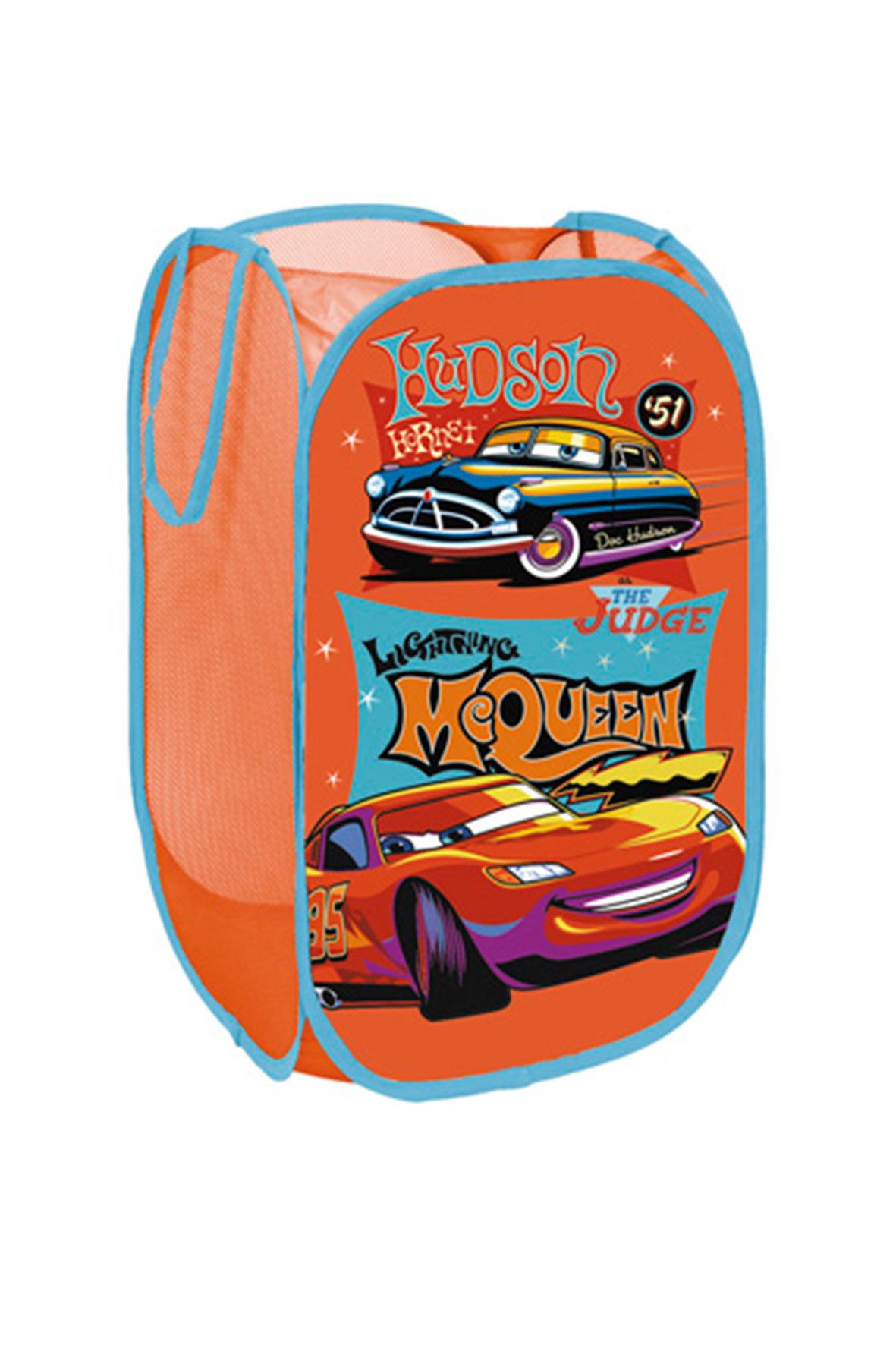 Obraz przedstawiający Kosz na zabawki Cars
