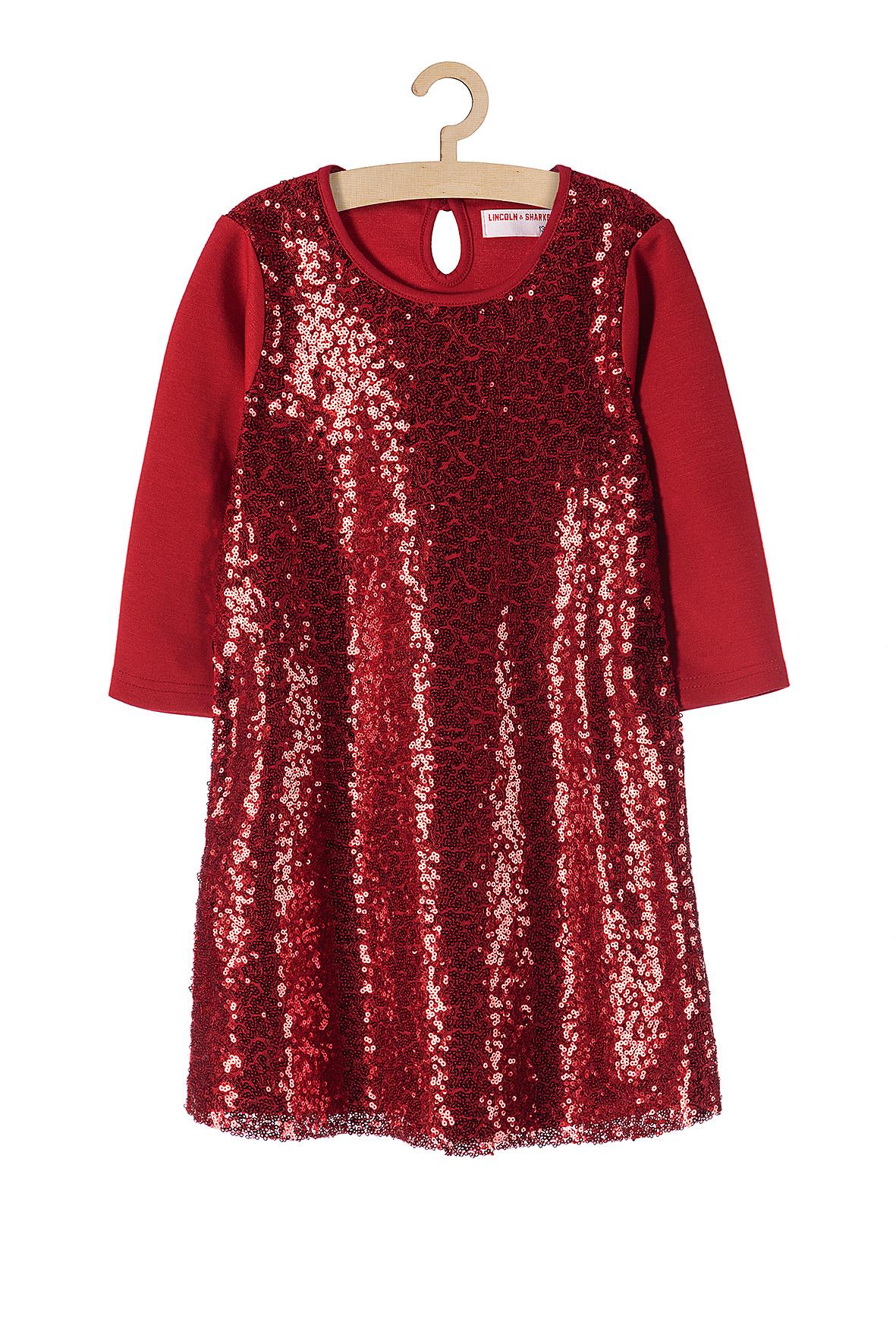 Sukienka dziewczęca 4K3708