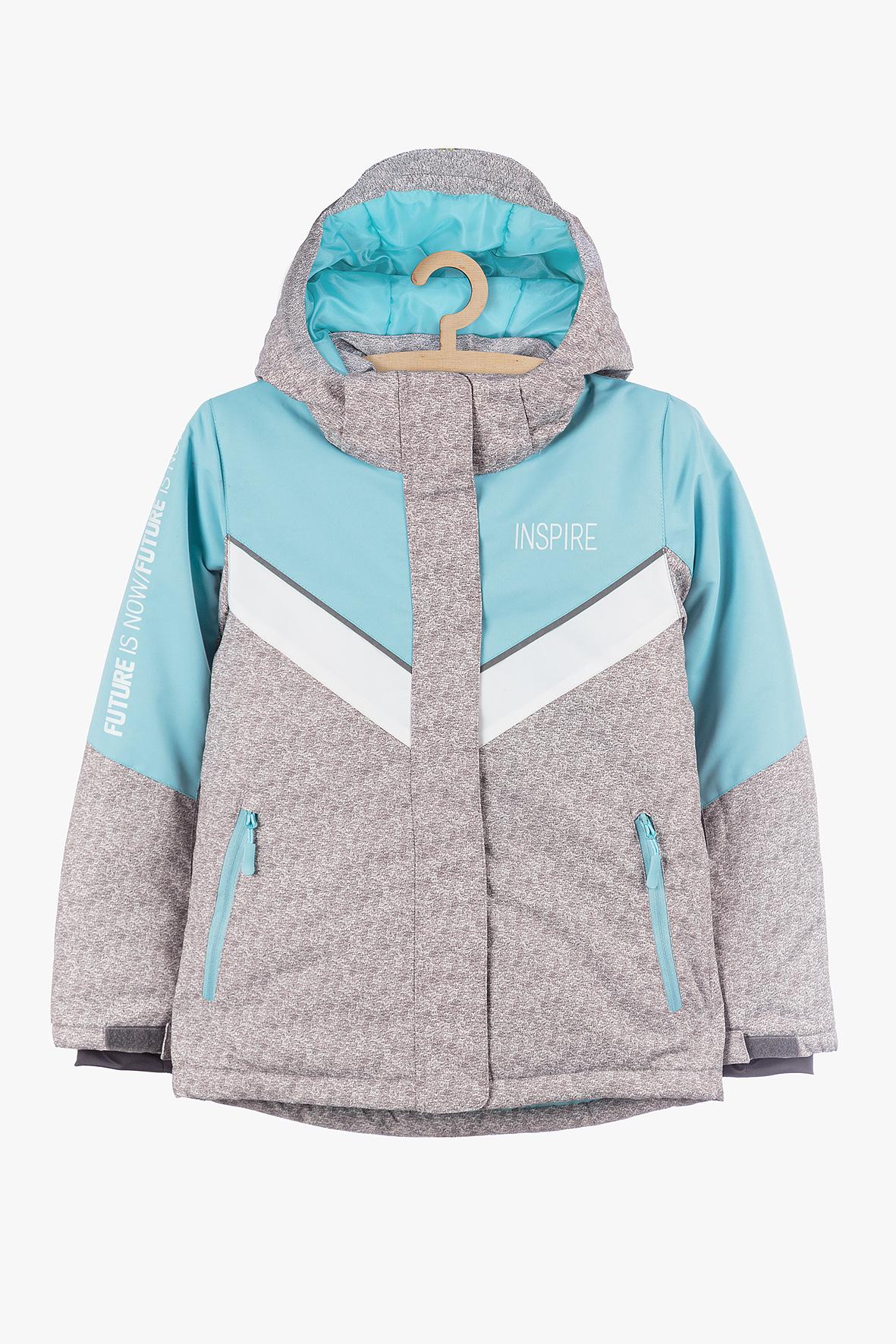 Kurtka narciarska dla dziewczynki 4A3906