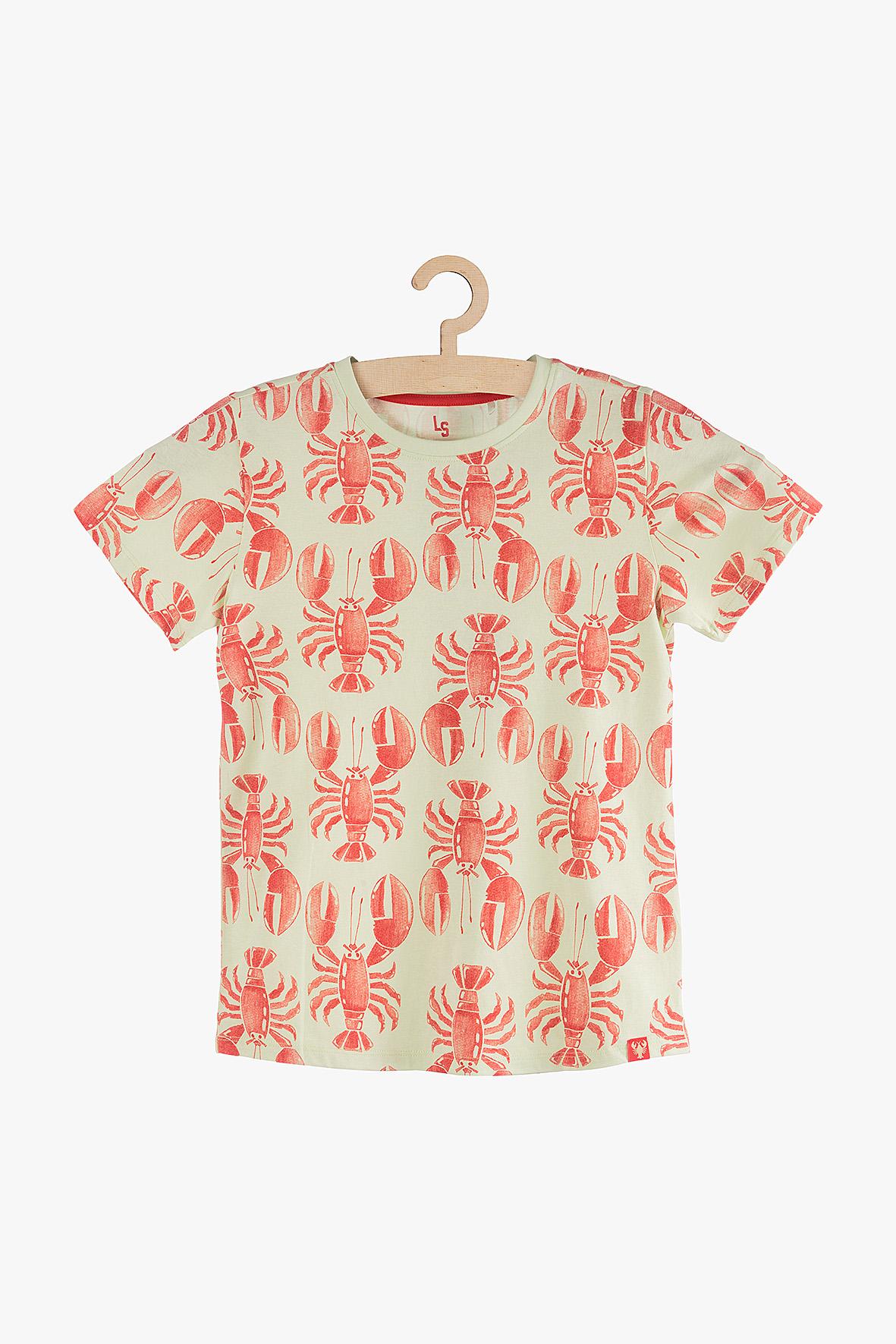 Koszulka chłopięca w raki 2I3827