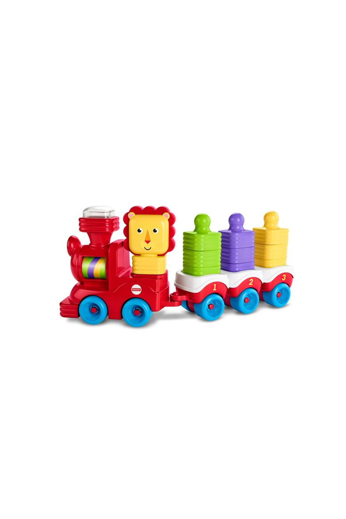 Lwi pociąg+ Klocki do układania 5Y33B3