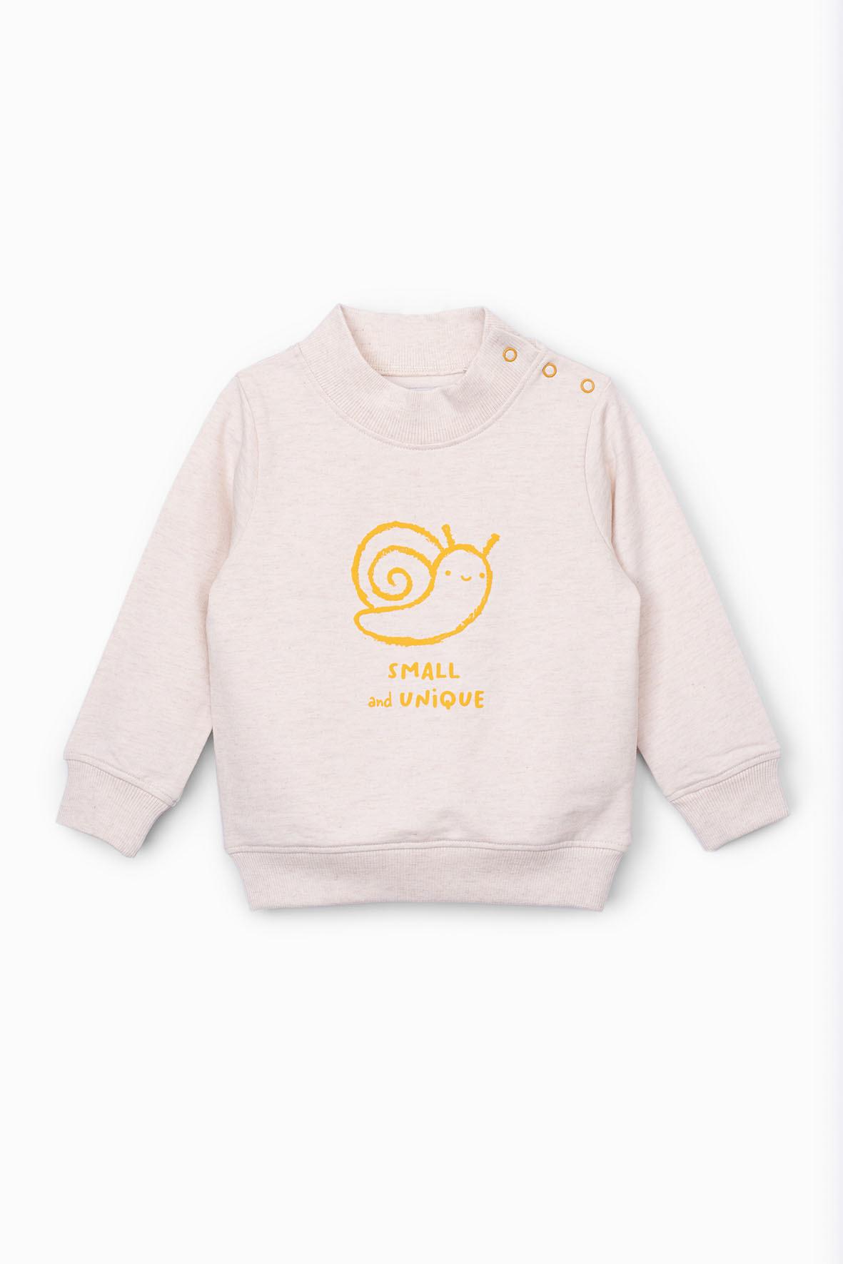 Bluza dresowa dla niemowlaka 5F4001