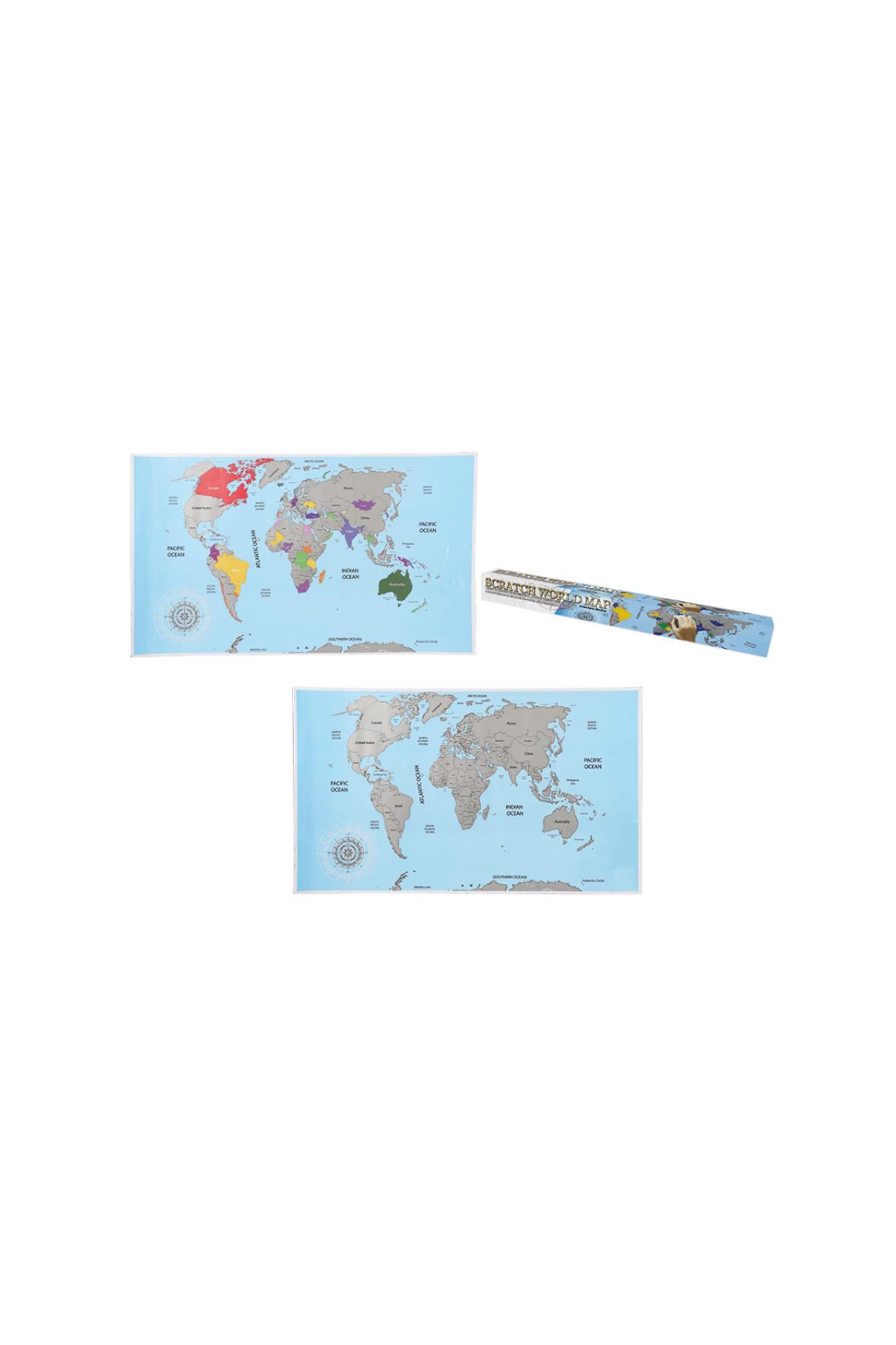 Mapa zdrapka 1Y35K6