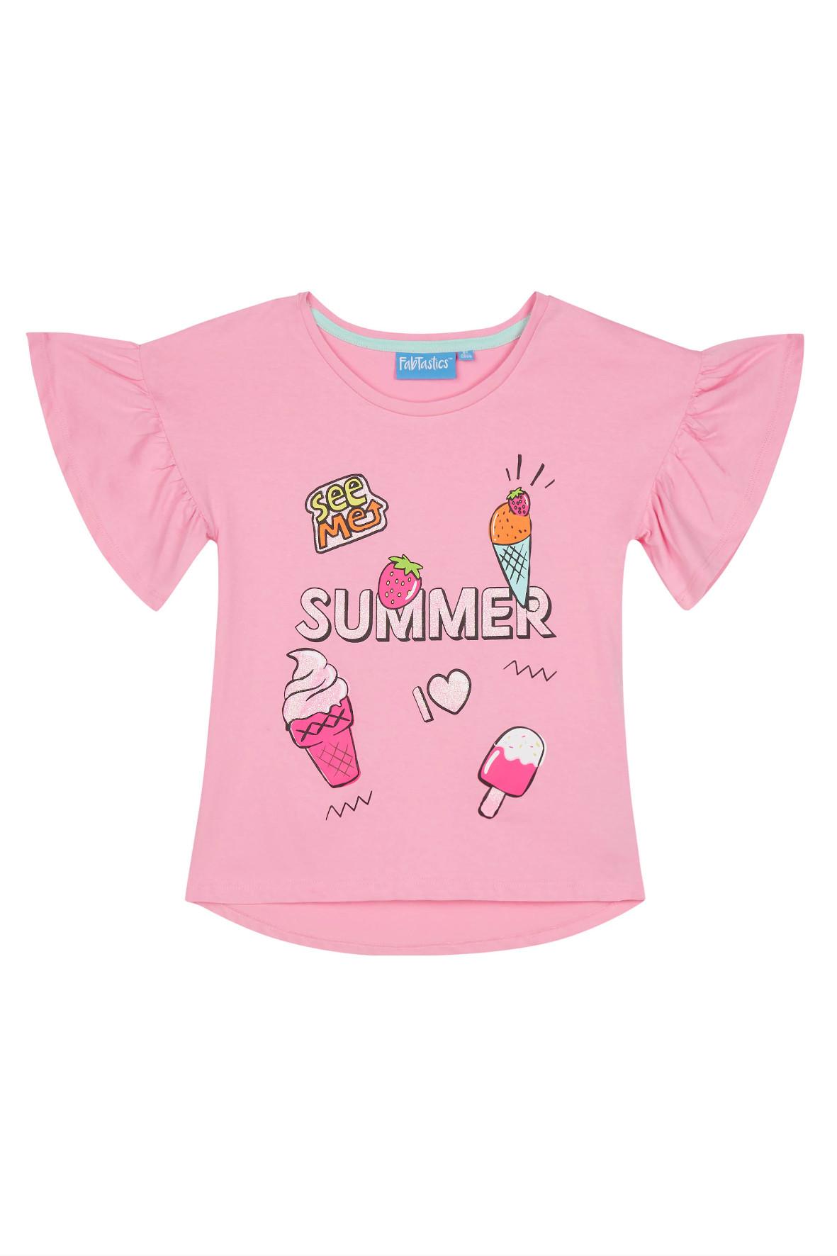 Koszulka dziewczęca 4I36A3