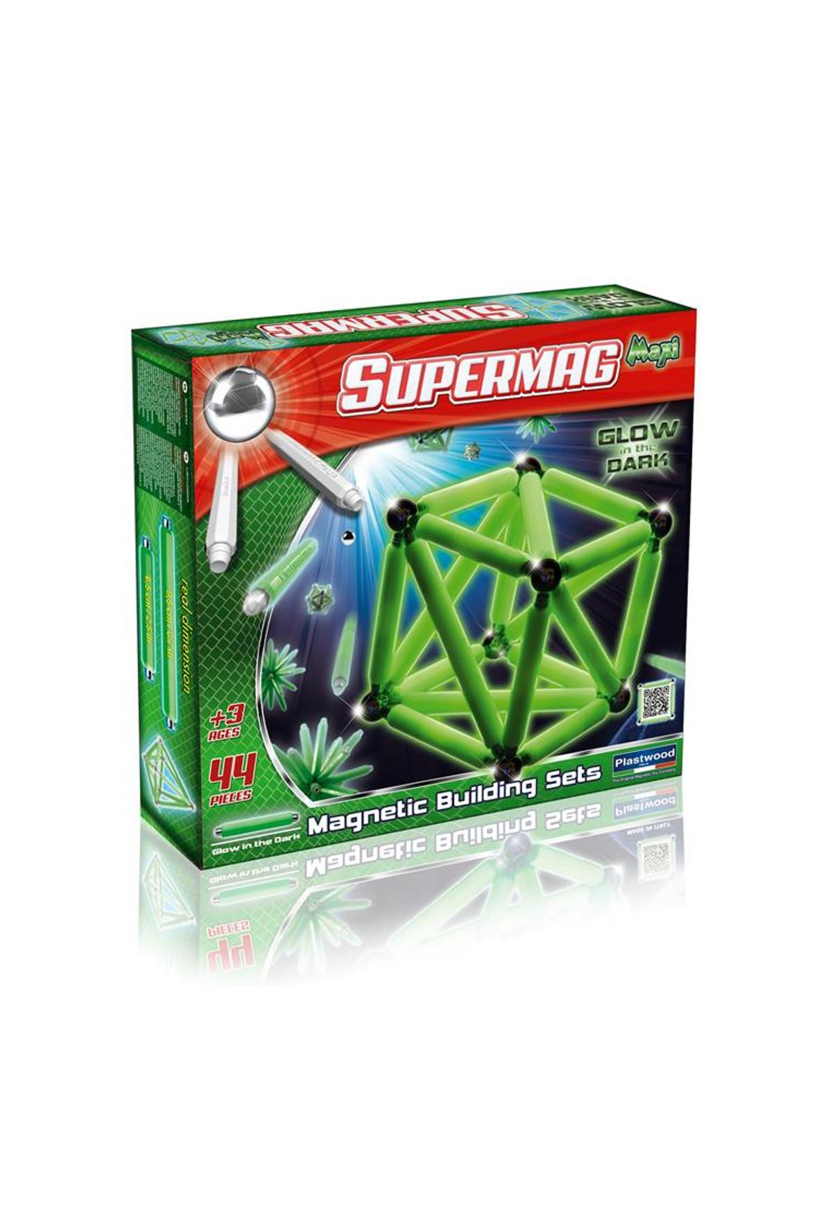 Klocki Supermag Maxi Glow 44 el. 1Y34IG