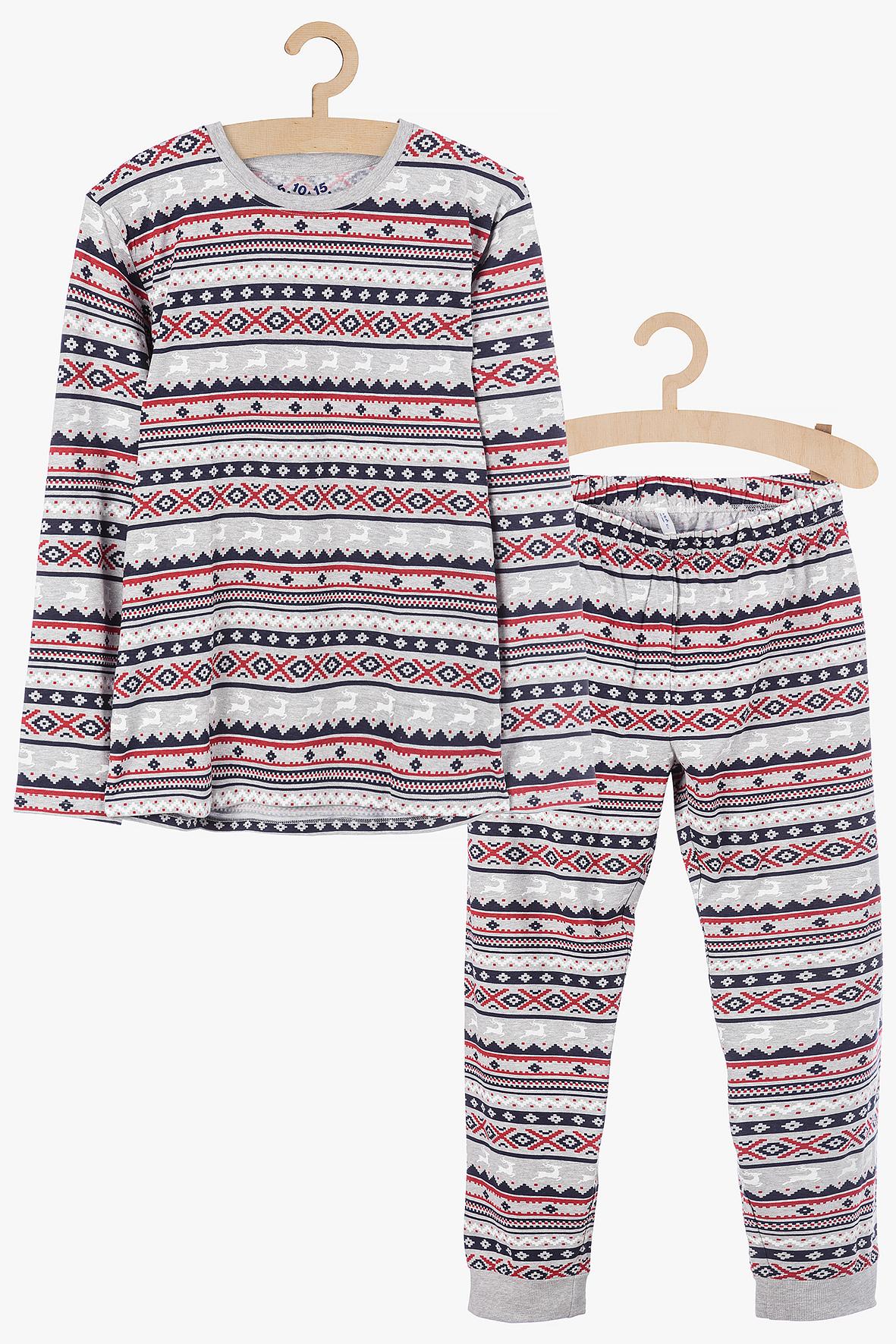 Piżama świąteczna damska 8W3901