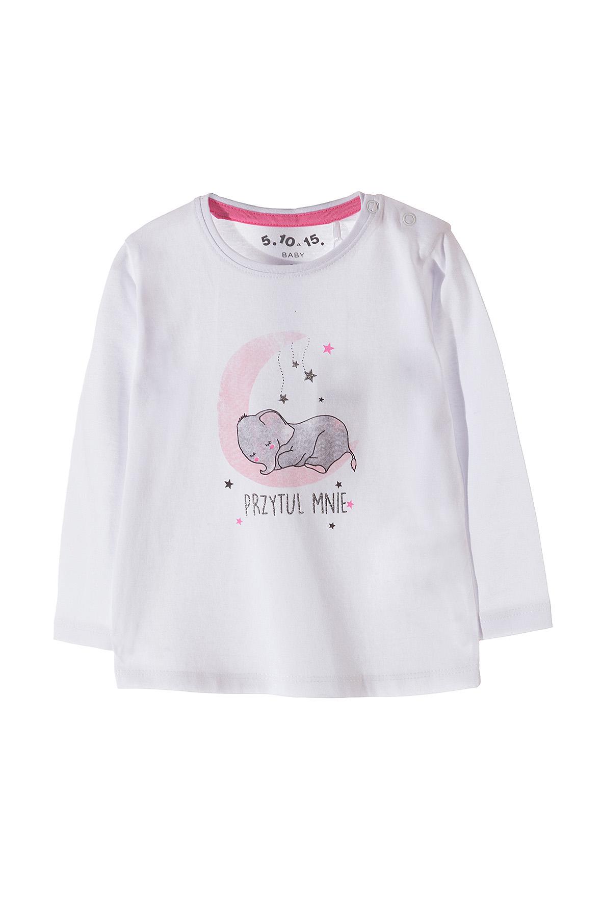 Bluzka niemowlęca bawełniana 5H3534