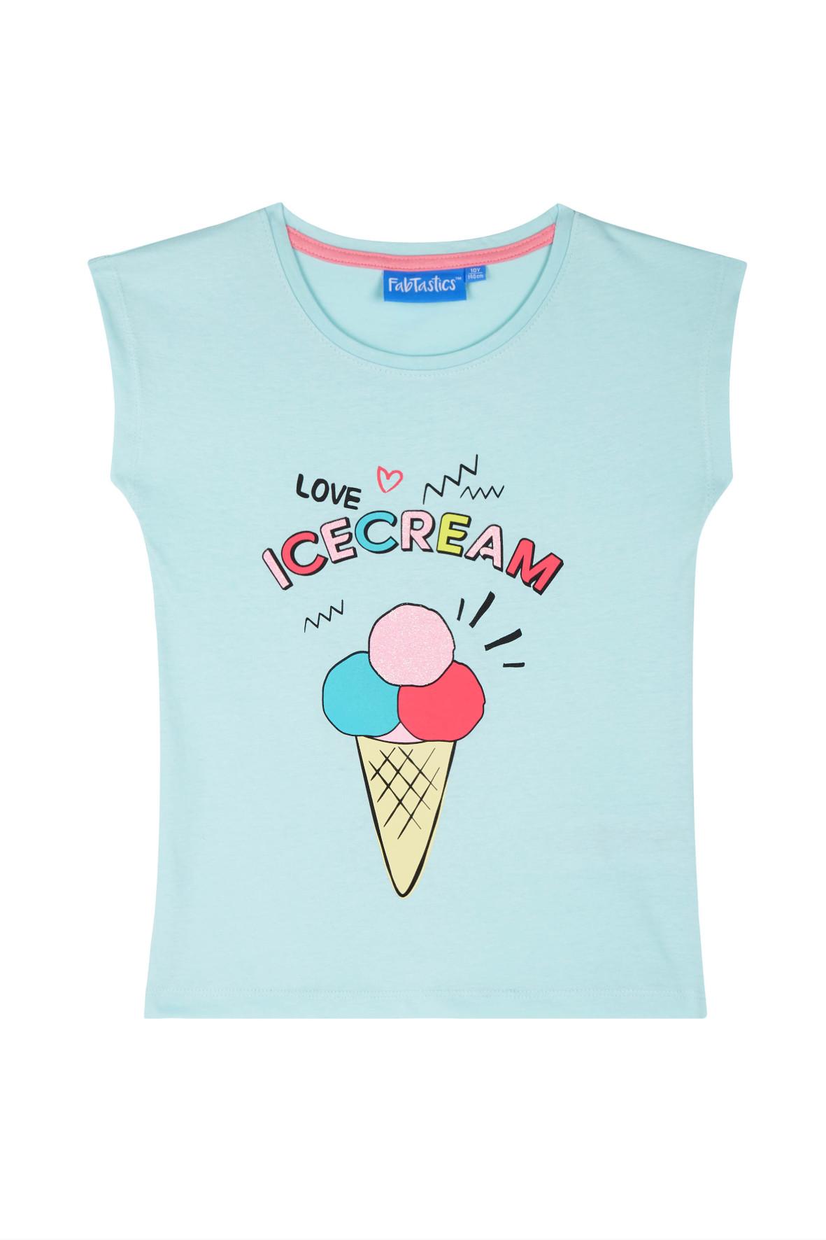 Koszulka dziewczęca 4I36A4