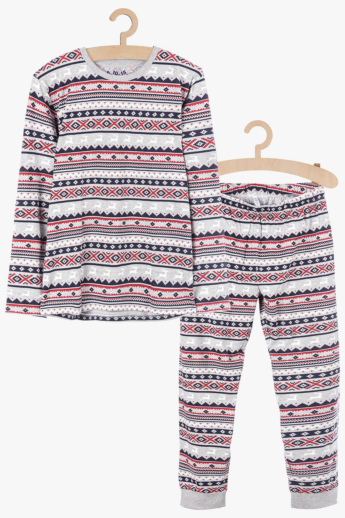 Świąteczna piżama dla dziewczynki 3W3915