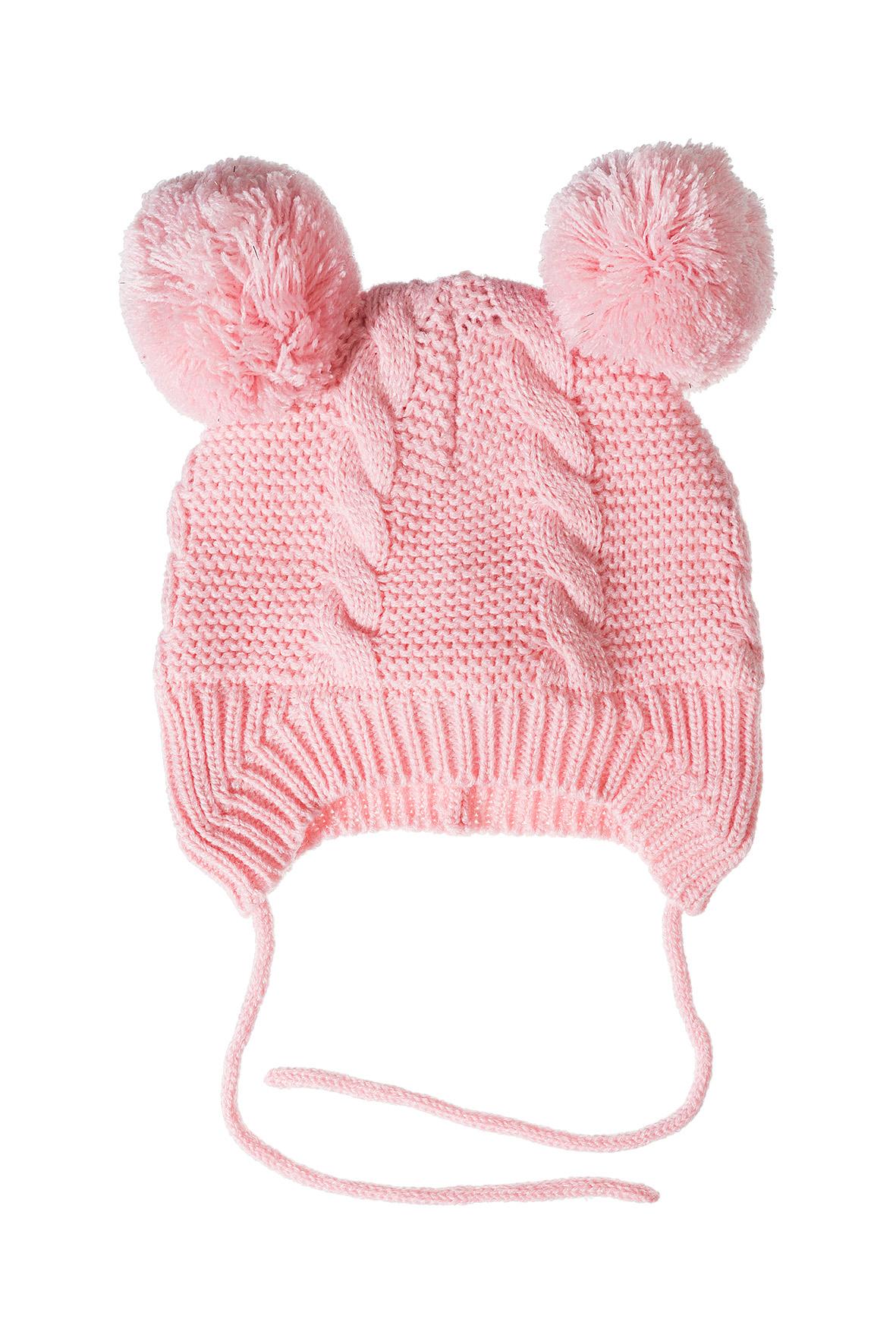 Czapka niemowlęca zimowa- wiązana 5X3531