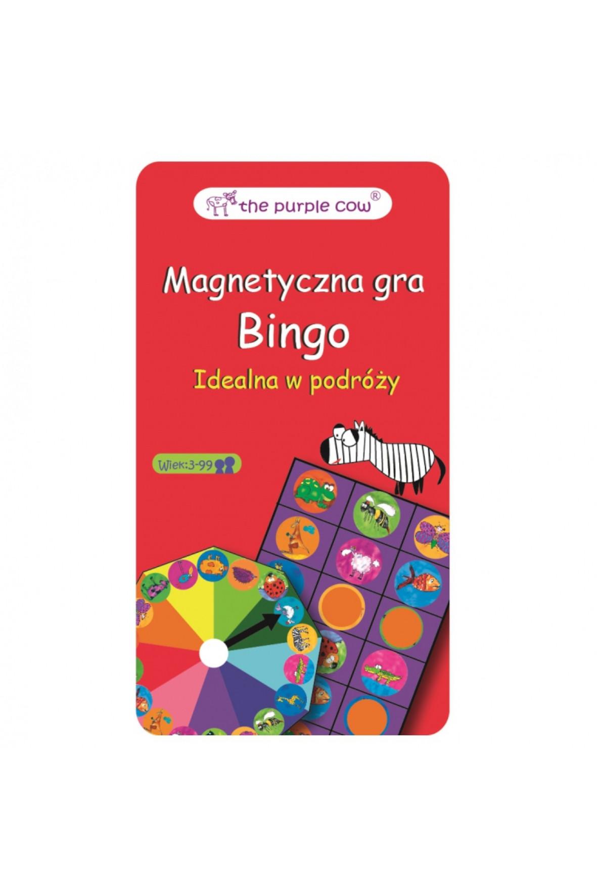 Gra magnetyczna Purple Cow Bingo 1Y36DT