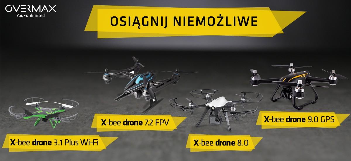 overmax drony